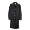 Cappotto Donna VERY SIMPLE V714AL Nero - Tassiello