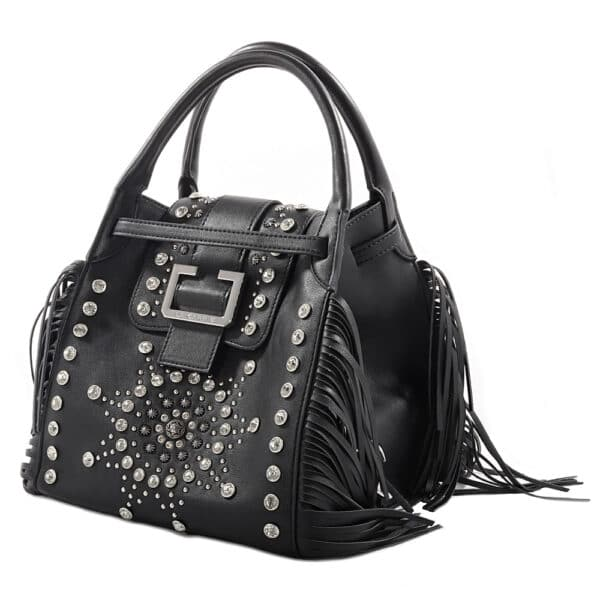 Borsa Donna LA CARRIE MM102 Nero - Tassiello